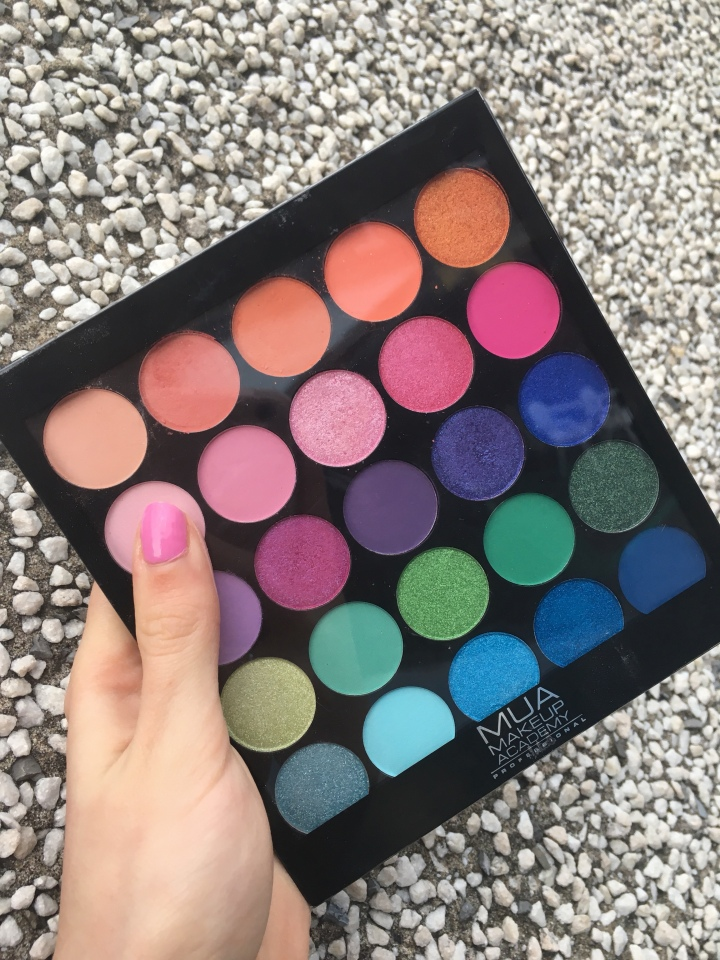 MUA Tropical Oceana Palette – Swatches andReview!